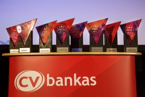 CV bankas Apdovanojimai - išskirtinių apdovanojimų gamyba ir dizainas Vilniuje